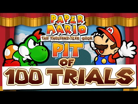 Paper Mario: The Thousand Year Door - Pit of 100 Trials
