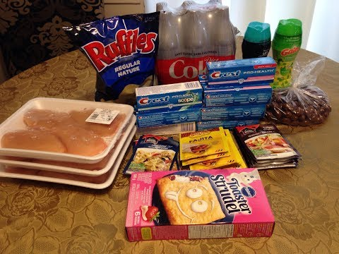 Canadian Coupon Grocery Haul #14