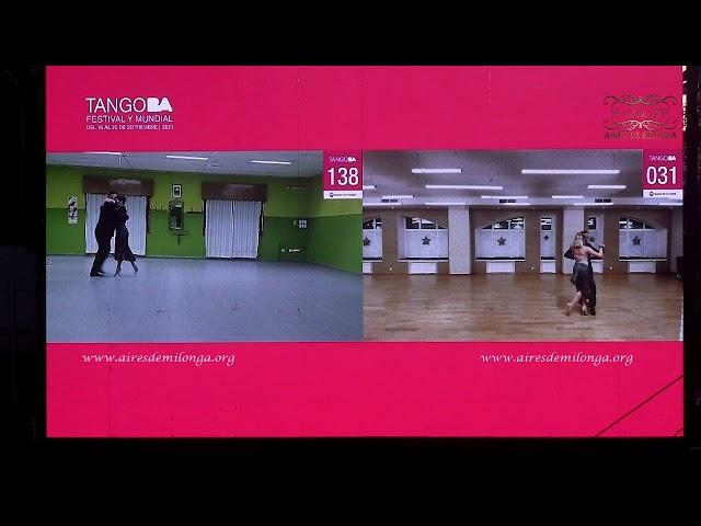 Final Pista, Ronda 6 Mundial de Tango 2021, baile de tango