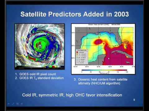 VISIT training session: Tropical Cyclone Intensity Guidance used by NHC
