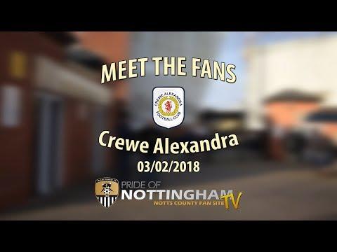 Meet the Fans 17-18 - Crewe Alexandra (03/02/2018)