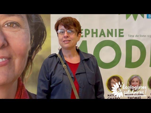 Myriam Chaouni - 5e de liste - Côte-d'Or