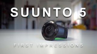 Suunto 5 - First Impressions