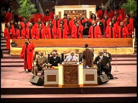 Asa W. Sampson Sr. and Hopewell Temple MBC Choir Singing at Pleasant Grove MBC of Houston, Texas