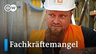 Fachkr?ftemangel: Wo stecken die talentierten Handwerker? | Made in Germany