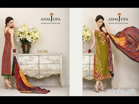 1057a27bab Asim Jofa Luxury Chiffon Party Wear Collection 2018 Latest - YouTube