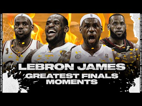 LeBron James Greatest NBA Finals Moments & Plays!