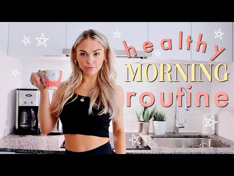 HEALTHY MORNING ROUTINE | Summer Morning Routine 2019