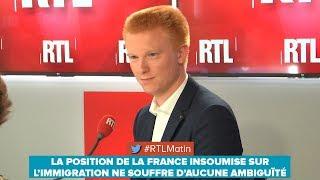 LA POSITION DE LA FRANCE INSOUMISE SUR L'IMMIGRATION NE SOUFFRE D'AUCUNE AMBIGUÏTÉ