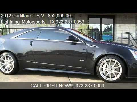 2012 cadillac cts v v coupe for sale in grand prairie. Black Bedroom Furniture Sets. Home Design Ideas