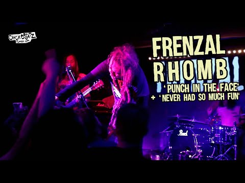 FRENZAL RHOMB - Punch in the Face + Never Had so Much Fun @ Paris, France [HQ LIVE] Mp3