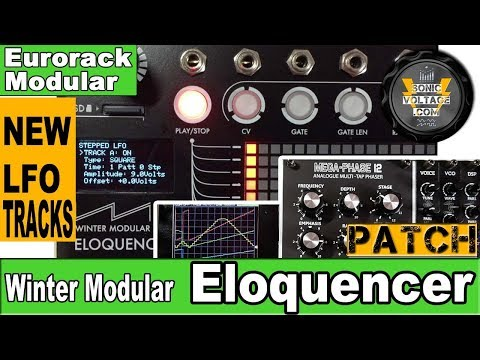 Eloquencer LFO Tracks Modulate AJH Synth Mega-Phase 12 and Pico DSP | Eloquencer LFO Demo