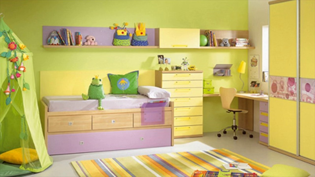 Kids Room Paint Ideas Pictures - YouTube