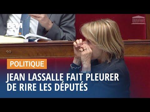 Quand Jean Lassalle fait pleurer de rire les députés