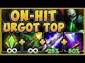 STOP PLAYING URGOT WRONG! ON-HIT URGOT IS 100% UNFAIR! ON-HIT URGOT S9 GAMEPLAY! - League of Legends