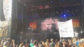 Nattali Rize - Heart Of A Lion live @ Uprising 2017