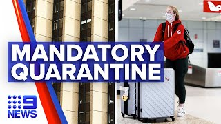 Coronavirus: Hotel quarantine enforced for Victorians arriving in Sydney | 9 News Australia