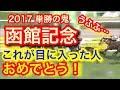 【競馬予想】G3函館記念2017 この動画見つけた人おめでとう 穴馬 ヤマカツライデン!…