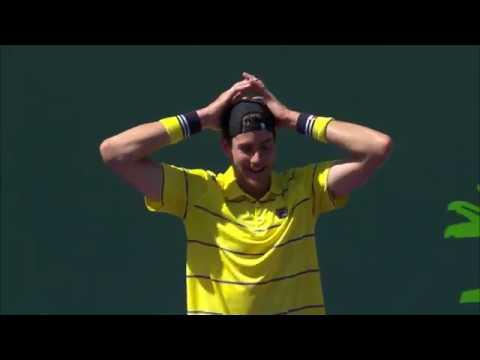2018 Miami Open Men's Finals, Isner Defeats A Zverev 67 64 64 Match Highlights