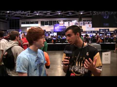 "MLG Dallas 12' Interview | Seth ""Scumpi"" Abner(Pro CoD Player) Of Optic Gaming"