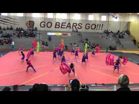 Hagerty high school winterguard 2016 the motion of Mumbai
