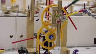 748時間かけたピタゴラ装置  京都造形芸術大学プロダクトデザイン学科