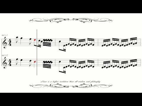 [Sheet Music]  Vivaldi The Four Seasons Spring 1