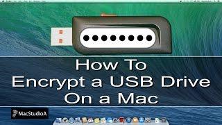 How To Encrypt a USB Drive on Mac
