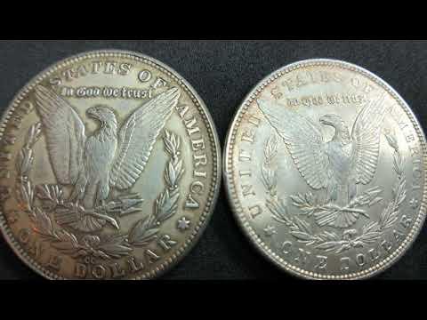 UPDATE:2 Close Up Comparison - Morgan Dollar Fake VS Real
