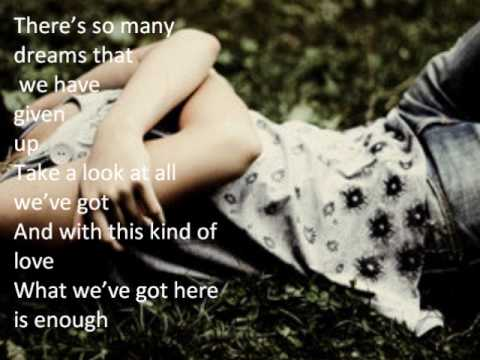 HOLD ON- MICHAEL BUBLE'- VIDEO WITH LYRICS.