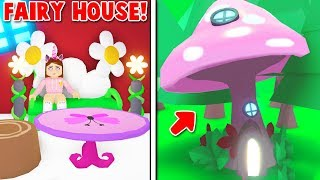 I BOUGHT The NEW FAIRY HOUSE In ADOPT ME! (Roblox)