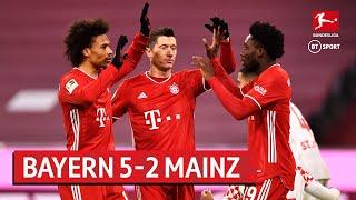 Bayern Munich vs Mainz (5-2) | Bundesliga Highlights
