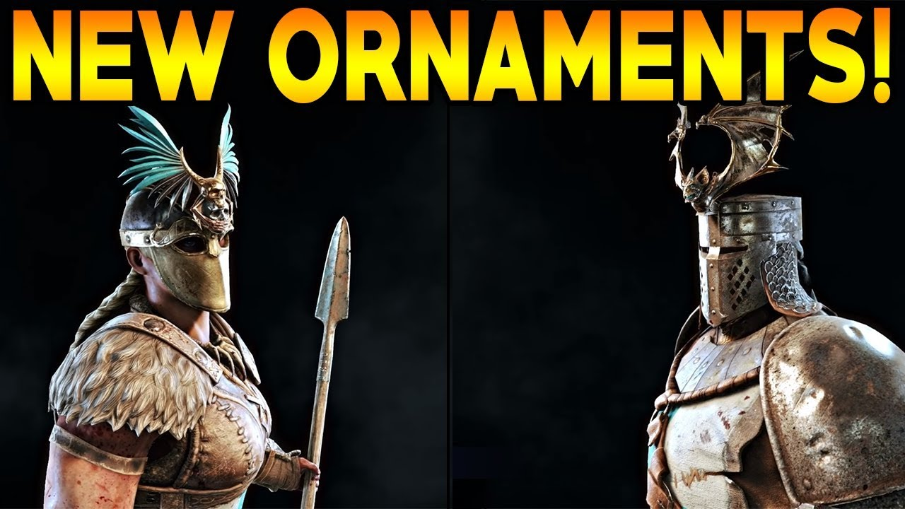 For Honor: NEW ORNAMENTS! VORTIGER INFO NEXT WEEK!