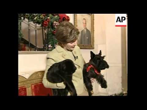 Annual Christmas video by President Bush's Scottish terrier - 2006