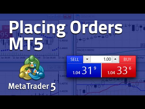 How to Place Orders on MetaTrader 5