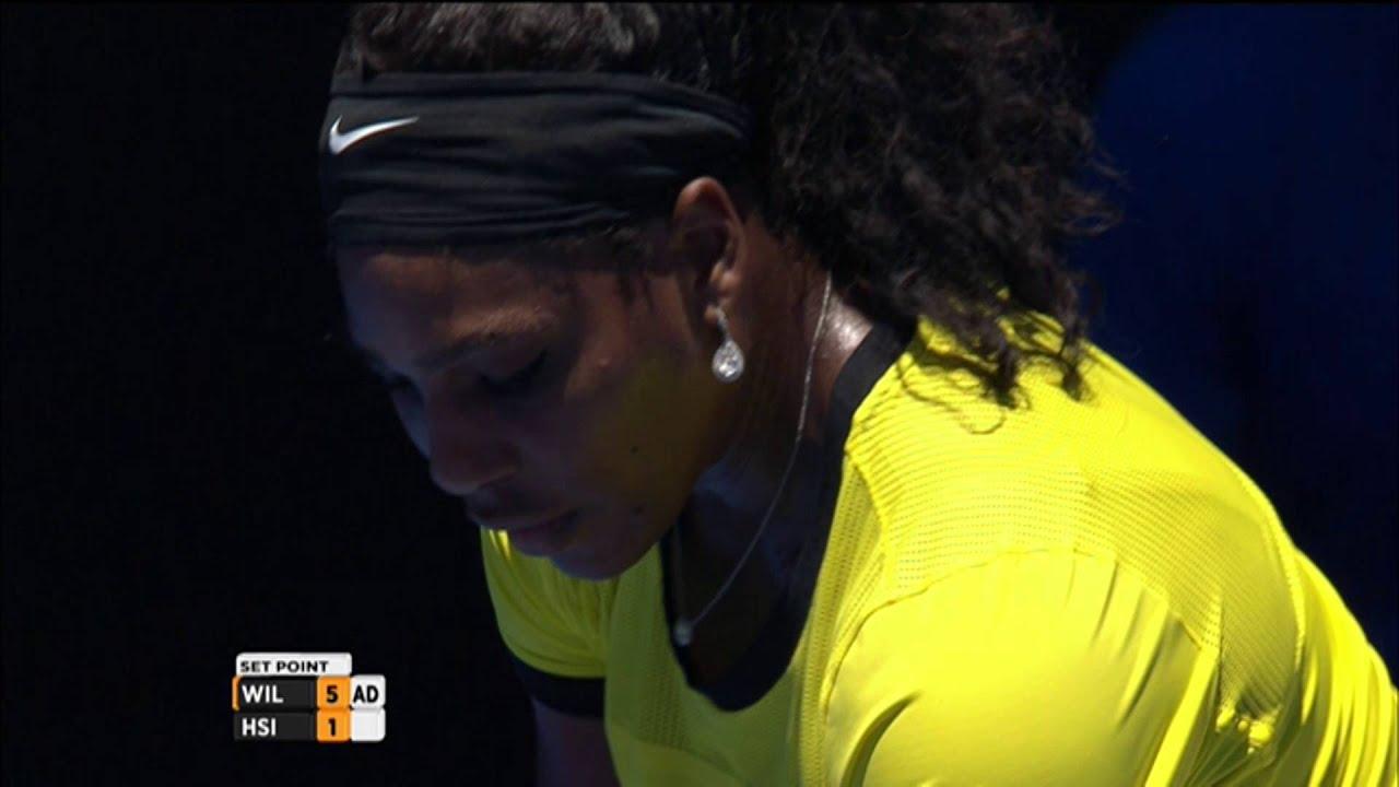 Serena Williams v Su-Wei Hsieh highlights (2R) | Australian Open 2016