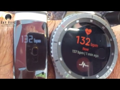 Samsung Gear S3 Heart Rate measuring comparison with ECG technology and manual method