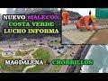 TRABAJOS EN EL NUEVO MALECÓN COSTA VERDE DE LIMA (DESDE MAGDALENA DEL MAR HASTA CHORRILLOS)