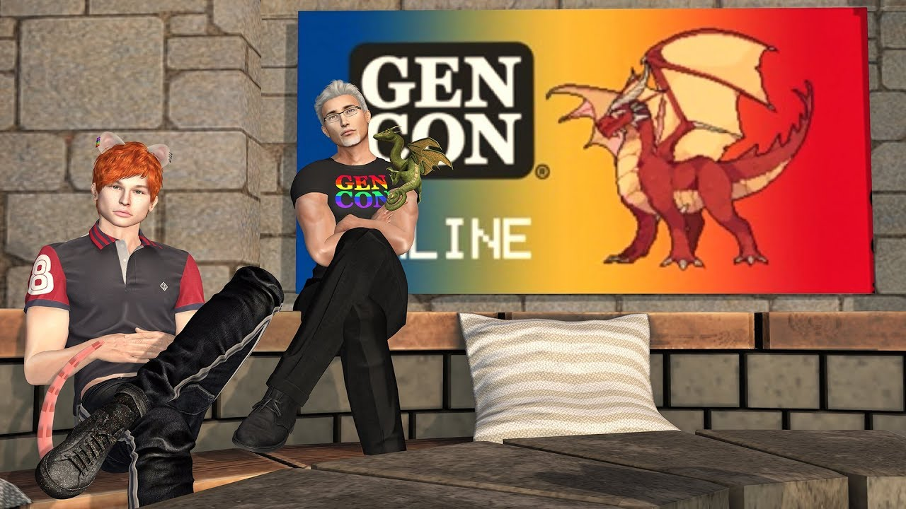 Patch Linden's Speech at the Opening Ceremony of a Virtual Gen Con Experience in Second Life!
