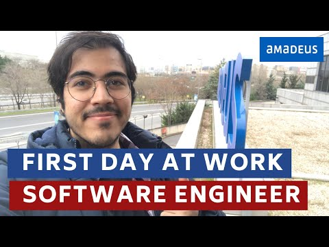 First Day at Work as a Software Engineer | Amadeus Istanbul #VLOG