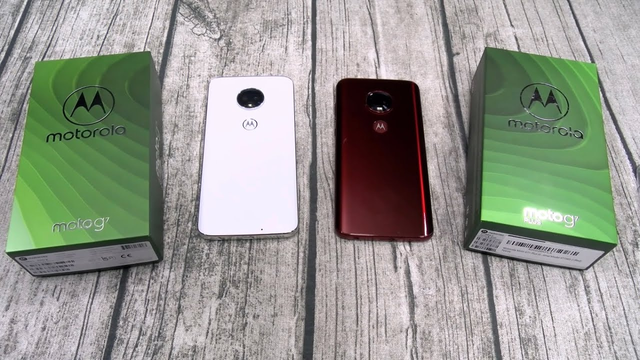 Moto G7 vs Moto G7 Plus