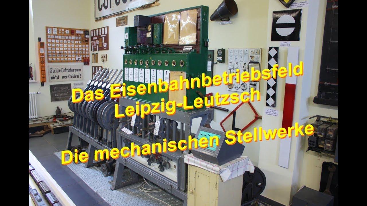Download Das Eisenbahnbetriebsfeld / Lehrstellwerk Leipzig-Leutzsch - Die mechanischen Stellwerke