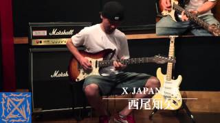 X JAPAN  /  紅 cover