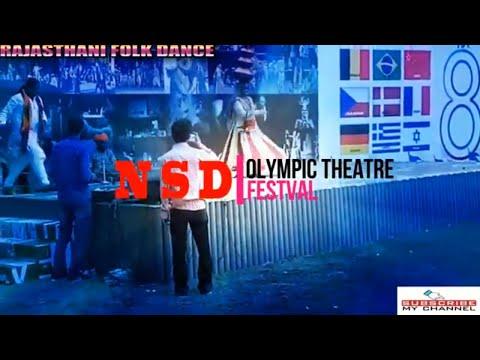THEATRE OLYMPIC FESTIVAL RAJASTHANI FOLK DANCE Sadda adda star cast DELHI