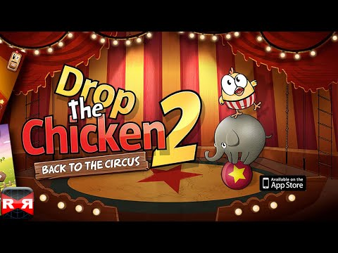 Drop The Chicken 2 (By AppInTheBox) - iOS Gameplay Video