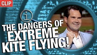 QI | The Dangers of Extreme Kite-Flying