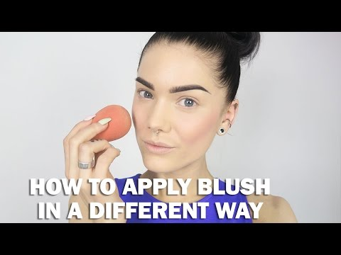 How To Apply Blush In Different Way