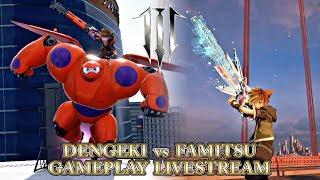 Kingdom Hearts 3 Dengeki vs Famitsu Gameplay Livestream