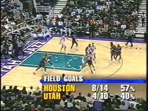 Houston Rockets vs Utah Jazz - (25.12.97)