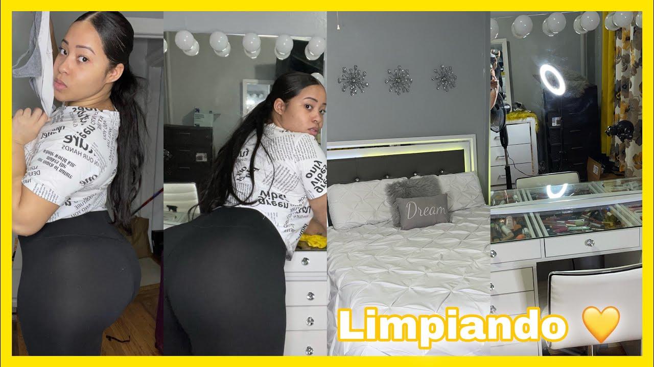 DOBLANDO TANG4S Y LIMPIANDO EN LICRAS